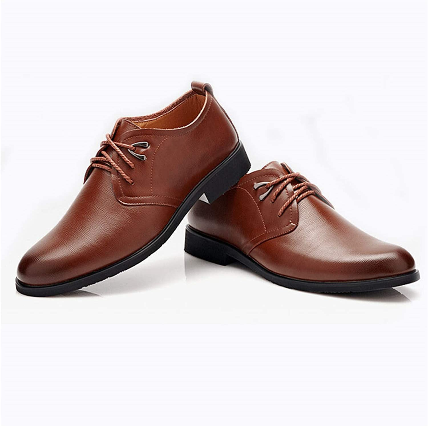 Sonjer Men shoes Fashion Man-Made Leather Dress shoes Round Toe Men Wedding shoes Men Casual Business Flats Size 3844