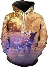 iLXHD 3D Printing Unisex Hoodie Novelty Game Sweatshirt Pullover Xmas Jumper