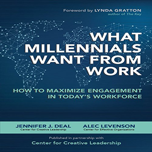 What Millennials Want from Work audiobook cover art
