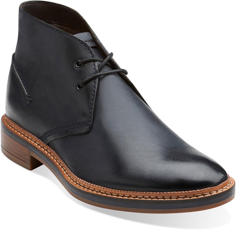 Clarks Clarks Clarks Grimsby Hi herrar läder Chukka Boot  upp till 42% rabatt