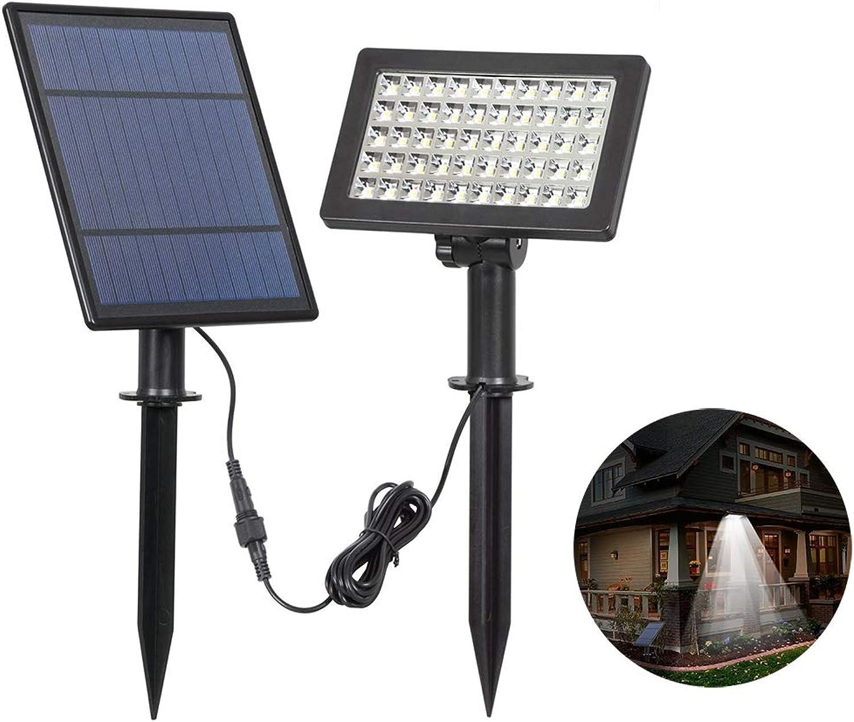 ZDYLM-Y LED Solar Strahler Garten Intelligente Lichtsteuerung 50LED Im Freien Dekorativer Scheinwerfer Wasserdichte Wandleuchte, Verwendet für Hof, Garten