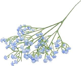 HAIJUNSM Fleurs artificielles 90Heads 52cm Fleurs artificielles Plastique Gypsophila DIY Floral Bouquets Arrangement pour ...