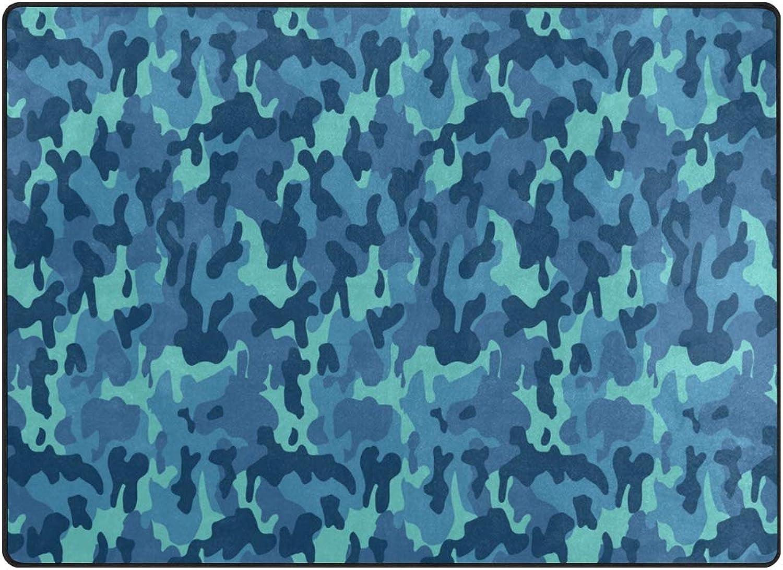 FAJRO bluee Leopard Print Rugs for entryway Doormat Area Rug Multipattern Door Mat shoes Scraper Home Dec Anti-Slip Indoor Outdoor