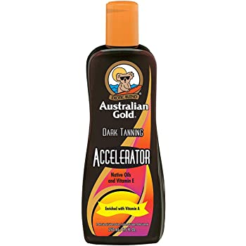 Australian Gold Dark Tanning Accelerator Lotion, 8.5 Fluid Ounce
