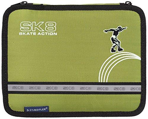 STAEDTLER 61 SET - Plumier con cremallera, verde pistacho
