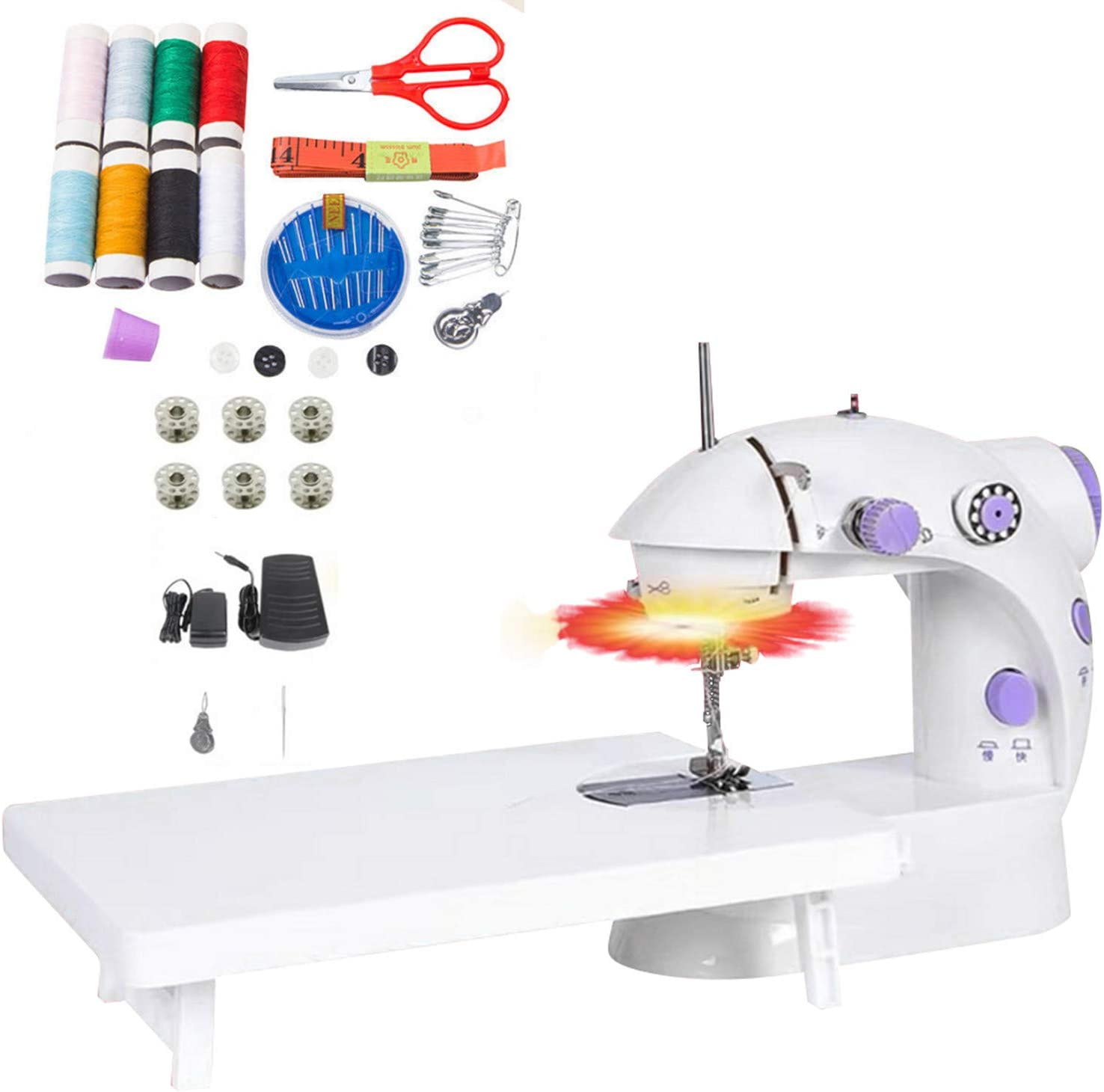 Max 43% OFF Sewing Machine Mini Size Small Crafting Electric Portable Sale SALE% OFF Mendin