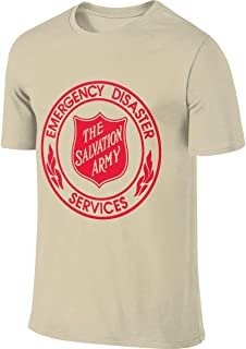 The Salvation Army Men's Short Sleeve T-Shirt Athletic Casual Tee Shirts for Men Fashion T Shirt