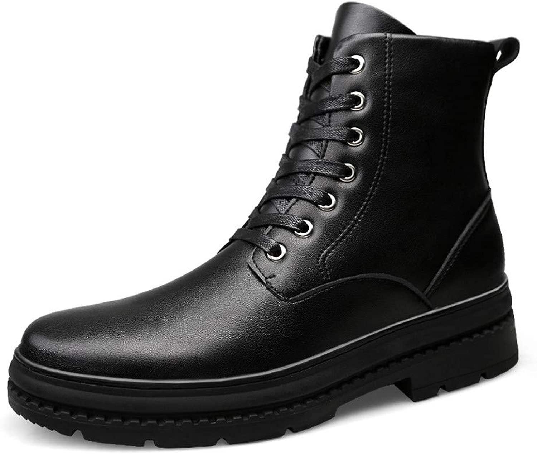 Seeker Seeker Casual High-Top wasserdichte Laufsohle Stiefel (Warm Velvet Optional) Herrenmode Stiefeletten New Winter Style  gute Qualität