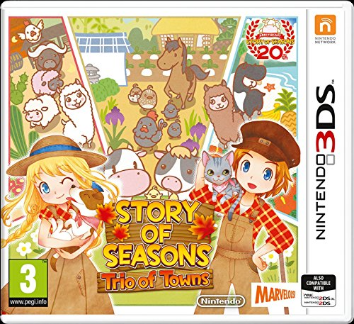 Story of Seasons: Trio of Towns 3DS [