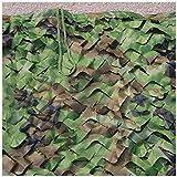 HTTWZW Camuflaje compensación for los niños, Woodland camuflaje 2x4m Red de camuflaje selva netos aplicables a acampar invisible bosque caza Piscina Tienda de camuflaje sombrilla GAM photography fiest