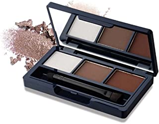 DONGXIUB 3 Colors Mini Eyebrow Powder Waterproof Eyeshadow Powder Shimmer Eye Highlight Palette Cosmetic Set
