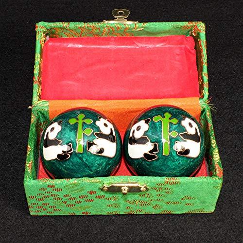 haia7k4k 1 par de bola de esmalte chino Baoding para fortalecer tus manos