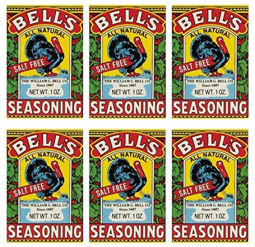 Bells All Natural Seasoning - 1 oz (Pack of 6)