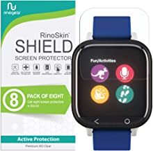 (8-Pack) RinoGear Screen Protector for Verizon GizmoWatch Case Friendly Verizon GizmoWatch Screen Protector Accessory Clear Film
