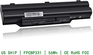 CQCQ FPCBP331 FMVNBP213 FMVNBP213/AH532 Compatible Battery Replacement for Fujitsu LifeBook A532 AH532 AH532/GFX AH532-3S2P FPCBP347AP CP567717-01 AH532/GFX Laptop (10.8V 56Wh/5200mAh)