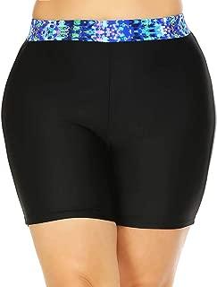 Plus Size Swimwear Swim Shorts Swim Bottoms UPF50+ UV Protection for Women