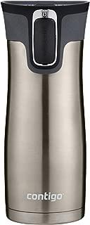 Contigo 2034154 Stainless Steel AUTOSEAL West Loop Vaccuum-Insulated Travel Mug, 16 oz