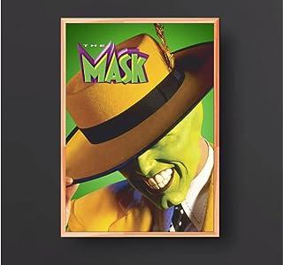 マスクジムキャリー映画ポスター壁画家の装飾(フレームなし)-60x80cmフレームなし