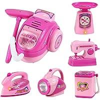 Fantarea 12 /6 PCS Children Kitchen Pretend Play Home Appliances Simulate Housework Toys Set
