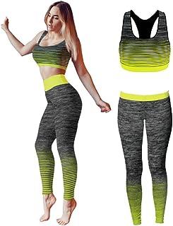 b30c0630dbd77e Conjunto de ropa de yoga o entrenamiento para mujer de Bonjour®, parte  superior y