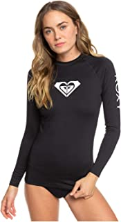 ROXY Women's Whole Hearted Long Sleeve UPF 50 Rash Vest