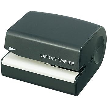 プラス レターオープナー ブラック 電池式 OL-001 35-131