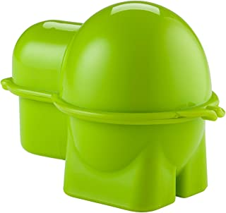 Hutzler 399GR Egg To-Go Snack Container, Green