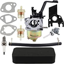 Dalom Carburetor Air Filter Fuel Shut Off Valve for for Champion Power Equipment CPE 163cc 196cc 6.5HP Portable Generator 46493 46514 46515 46516 46517 46596 46597 46598 45633