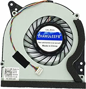 ZHAWULEEFB Replacement New CPU Cooling Fan for Dell XPS 18 1810 1820 AIO Laptop 604DR 0604DR 8J4YP KDB0705HB 604DR-A00-CH63 DC5V 0.40A