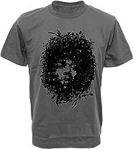 SODAtees Jimi Hendrix Bush Tree Face Art Men's T-Shirt Graphic Design Tee