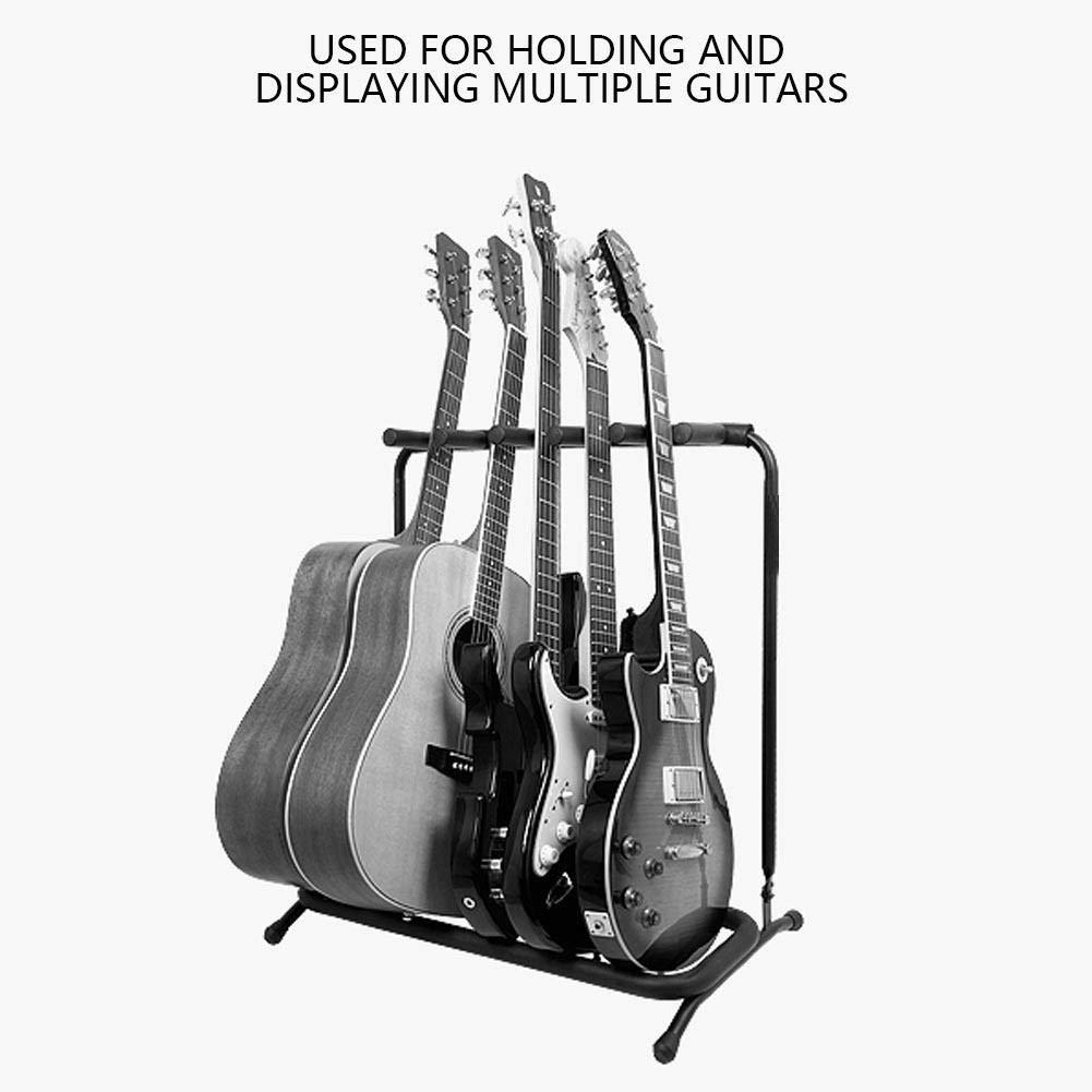 Soporte de Guitarra Suelo, Guitarras de Metal Resistente Soporte ...
