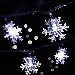 mini snowflake lights