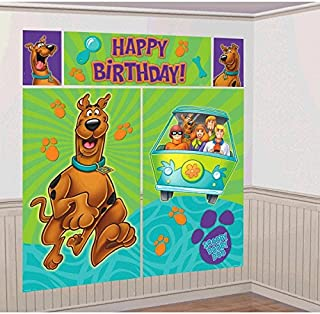 Amscan Party Centre Scooby-Doo Where Are You Scene Setter