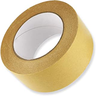 UPlama Reinforced Kraft Paper Tape, Moving Box Tape Kraft Packaging Tape Heavy Duty Premium Sealing Adhesive for Secure Packaging Shipping Moving Storage(2