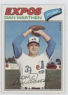 Dan Warthen (Baseball Card) 1977 Topps - [Base] #391