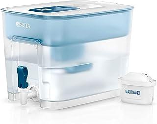 ブリタ 浄水器 タンク型 浄水部容量:5.2L(全容量:8.2L) フロー 【日本正規品】塩素 水垢 不純物 除去 ブルー