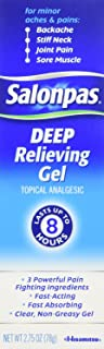 Salonpas Deep Relieving Gel, 2 Count