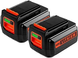 LBXR36 3.0 - Batería de litio para Black & Decker, batería máxima de 40 V para B&D LBX36 LBX2040 TC220 LHT2436 LSW36 LST136 LCC140 Series sin cable para baterías Black y Decker 40 V 36 V