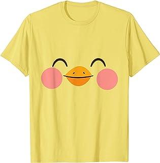 Carnaval d'Halloween déguisé en canard avec visage d'animal T-Shirt