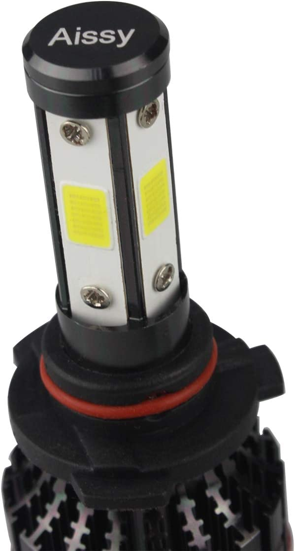 9005//HB3 Aissy headlight Led 4SidesCOB H4 H7 9005 9006 H13 9007 27W 4600LM 6500K-7500K Cool White Conversion Kit