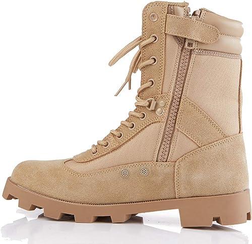 Bottes de Patrouille de Police de Grande Taille Combat Tactique Bottes armée Militaire Tactique Sports de Plein air Camping Chaussures de randonnée