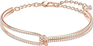 SWAROVSKI Crystal Lifelong Rose Gold-Tone Bracelet