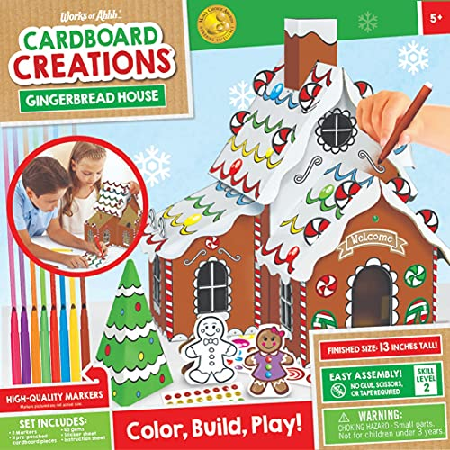 MasterPieces Holiday Cardboard Creations - Gingerbread House