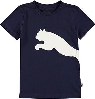 PUMA Ragazzo Big Cat QT T-Shirt Maglietta Manica Corta