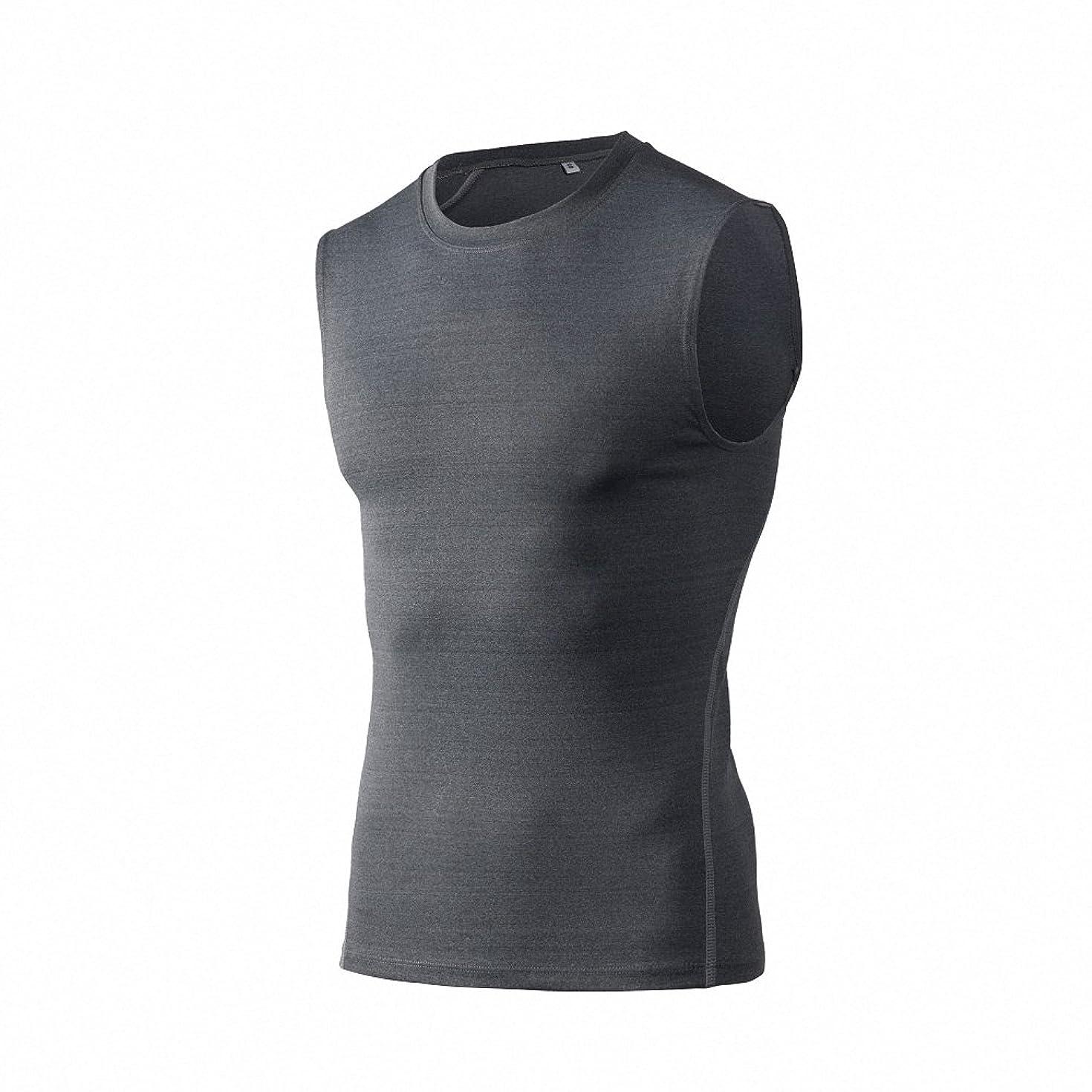 Maoko Men's Compression Sleeveless Baselayer Workout Tank Top Shirt