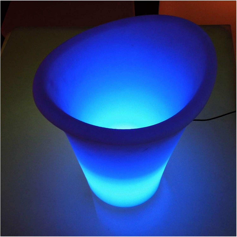 Ice Bucket Bar luminous shopping ice chair bucket LED furnitu Super beauty product restock quality top glowing