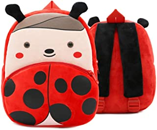Kids Cartoon Plush School Bags Cute Animal Kindergarten Soft Backpack for Boys Girls Student Lovely Schoolbags Zhaozb (Color : Yellow)