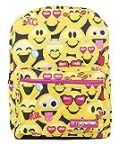 Emoji Emoticons 'Because I'm Happy' Smiley Face 16' Kids Backpack