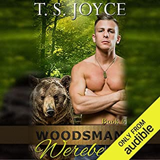 Woodsman Werebear     Saw Bears              By:                                                                                                                                 T.S. Joyce                               Narrated by:                                                                                                                                 Mackenzie Harte                      Length: 3 hrs and 25 mins     62 ratings     Overall 4.7