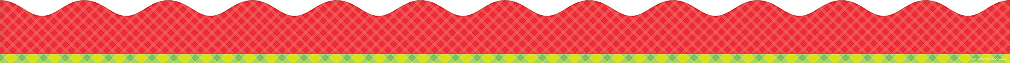 Tape It Up!: Pretty in Plaid Scalloped Trimmer